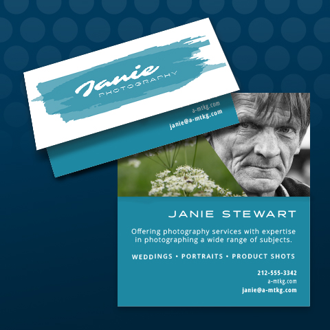Foldover Business Cards - Offset